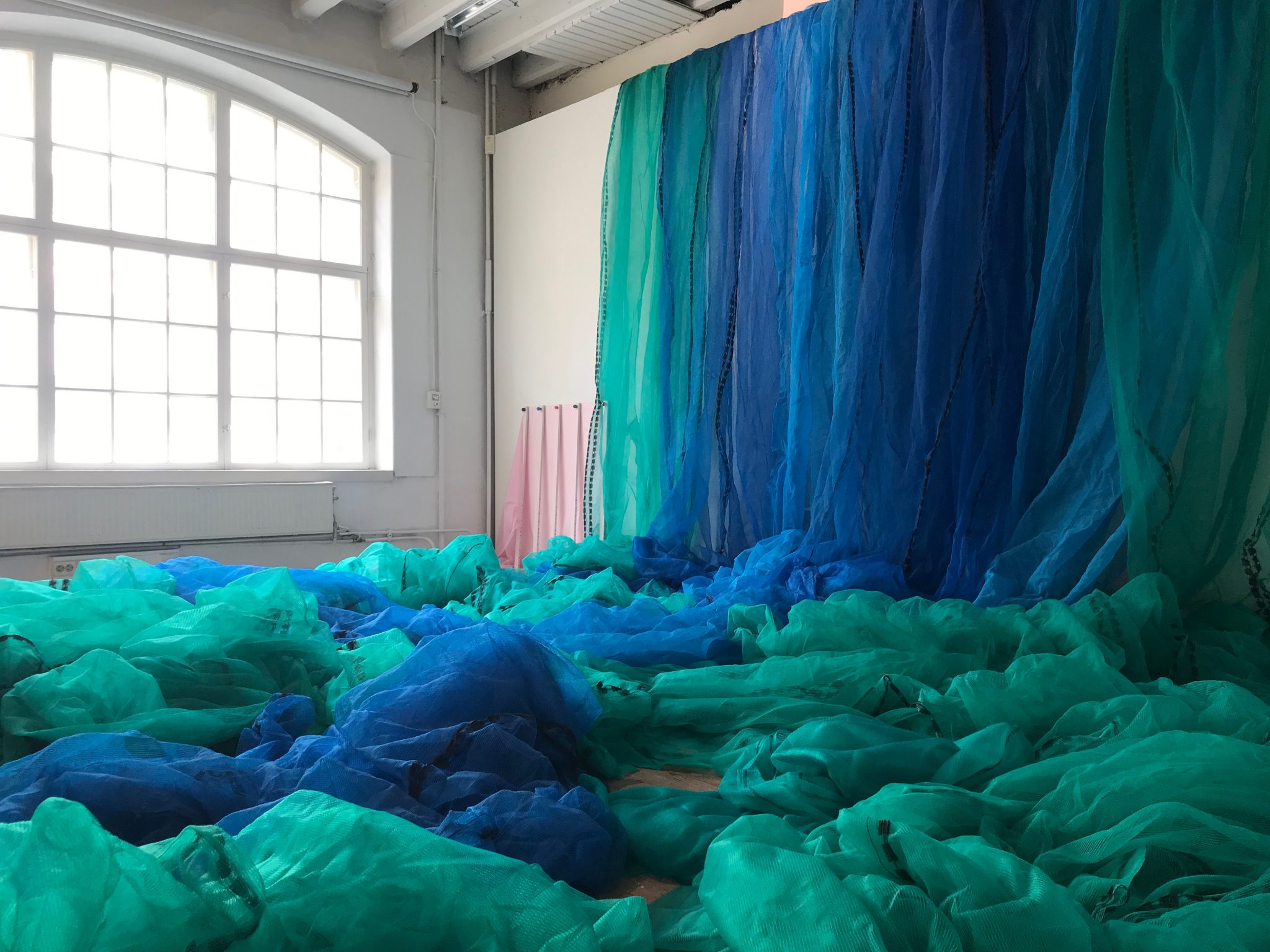 Andréa Hösel - Wall of Blues and Greens