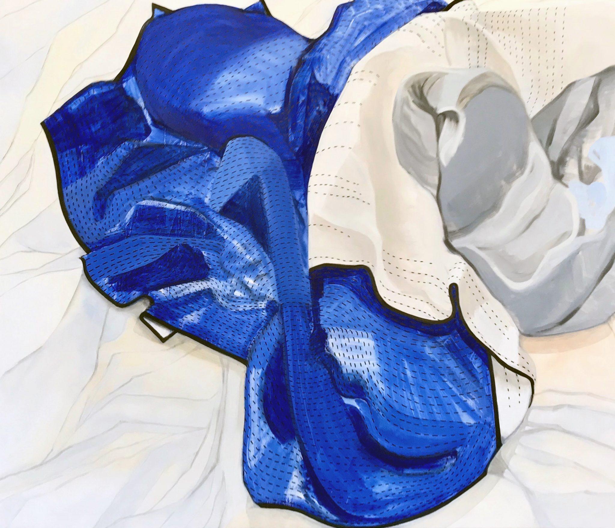 Andréa Hösel - Blått Täcke